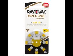 Слуховые батарейки 10 Rayovac Proline Advanced