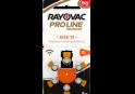 Слуховые батарейки 13 Rayovac Proline Advanced