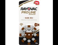 Слуховые батарейки 312 Rayovac Proline Advanced