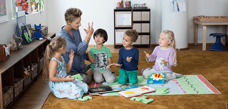 Общение со слабослышащими детьми