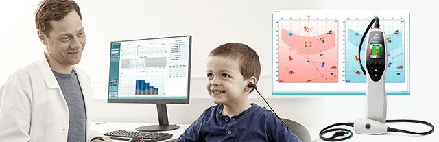 Диагностика нарушений слуха у детей