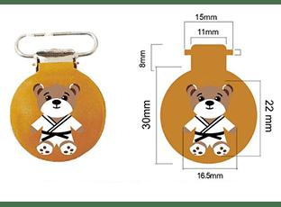Клипса-держатель для детских слуховых аппаратов