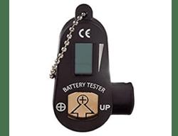 Тестер-брелок для батареек к слуховым аппаратам
