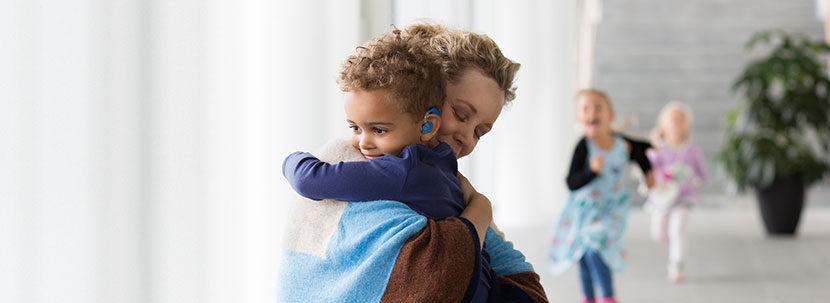 Коррекция нарушений слуха у детей