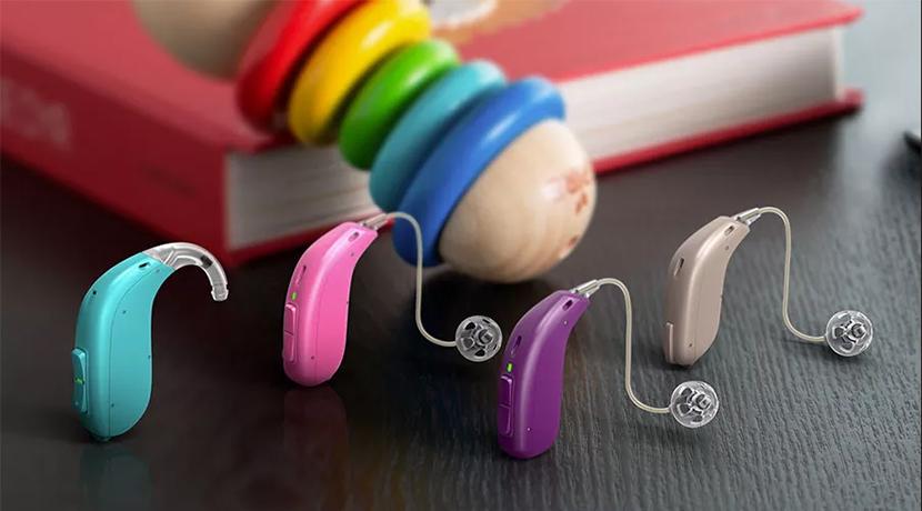 Как выглядят детские слуховые аппараты