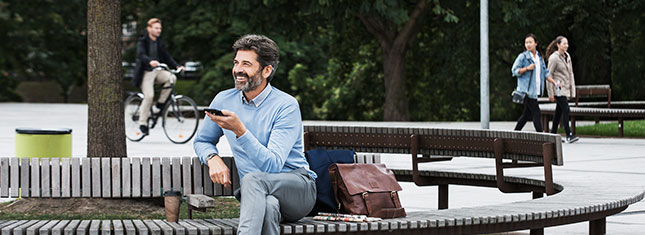 Разговоры по телефону с помощью мобильного телефона