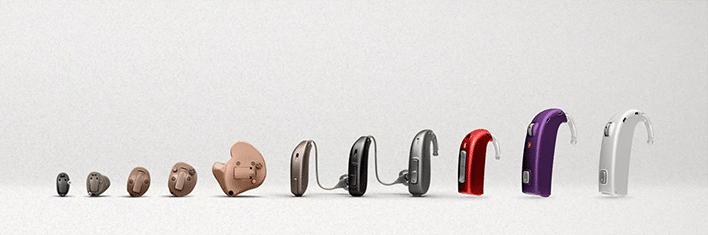 Все модели слуховых аппаратов