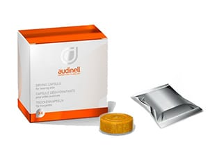 Капсулы Audinell для сушки слуховых аппаратов