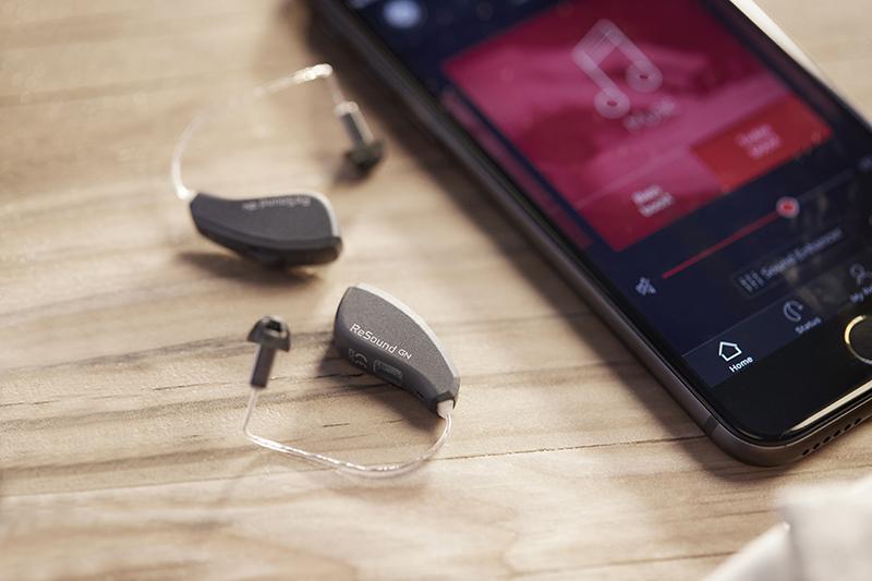 Мобильное приложение Smart 3D для слуховых аппаратов Resound